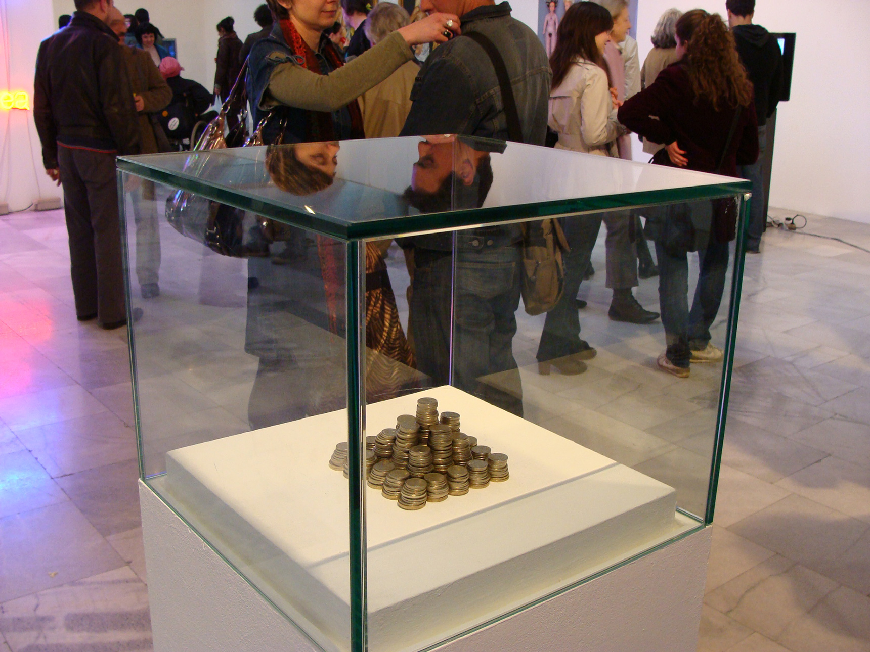 My budget for this exhibition, 2009
